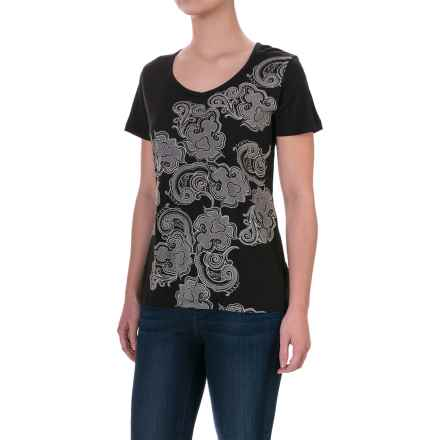 Aventura Clothing Pinellas T-Shirt - Short Sleeve (For Women) in Black - Closeouts