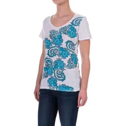 Aventura Clothing Pinellas T-Shirt - Short Sleeve (For Women) in Peacock Blue - Closeouts