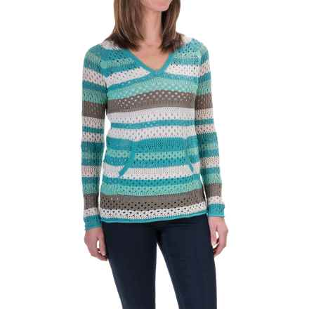 Aventura Clothing Pippa Hoodie Sweater - Organic Cotton Blend (For Women) in Holiday - Closeouts