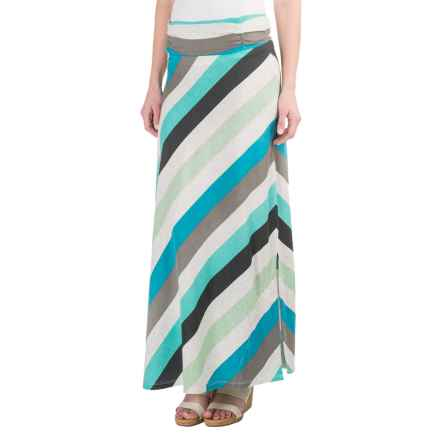 Aventura Clothing Quinlee Maxi Skirt (For Women) in Blue Turquoise - Closeouts