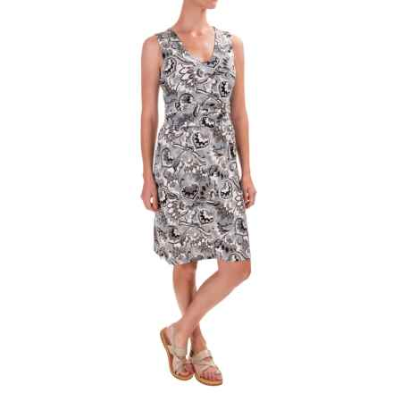 Aventura Clothing Rachel Dress - Organic Cotton-Rayon, Sleeveless (For Women) in Tradewinds - Closeouts
