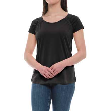 Aventura Clothing Raleigh Shirt - Organic Cotton, Short Sleeve (For Women) in Black - Closeouts