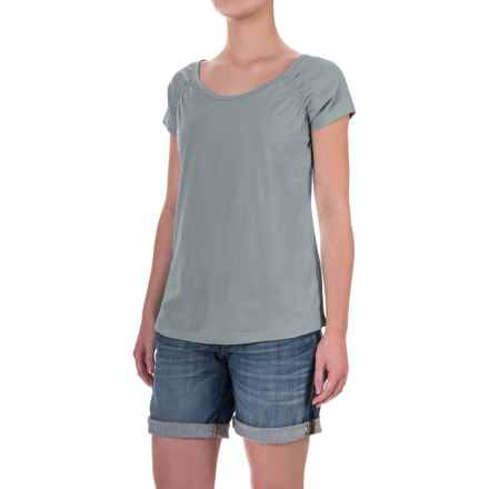 Aventura Clothing Raleigh Shirt - Organic Cotton, Short Sleeve (For Women) in Tradewinds - Closeouts