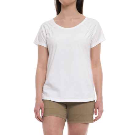 Aventura Clothing Raleigh Shirt - Organic Cotton, Short Sleeve (For Women) in White - Closeouts