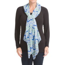 Aventura Clothing Ramona Scarf (For Women) in Aqua - Closeouts