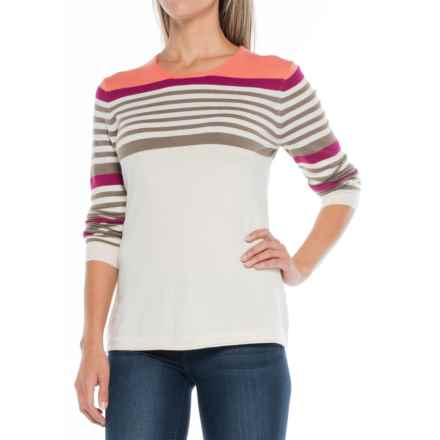 Aventura Clothing Reeva Sweater (For Women) in Whisper White - Closeouts