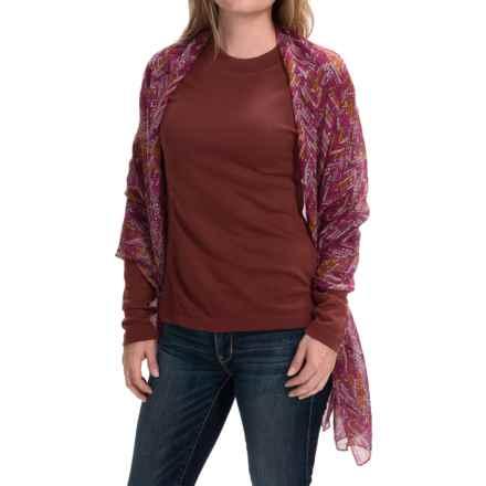 Aventura Clothing Rimini Scarf - Modal (For Women) in Fuchsia - Closeouts