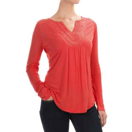 Aventura Clothing Romy Shirt - Long Sleeve (For Women) in Chipotle - Closeouts