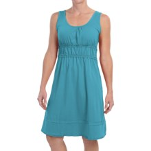 Aventura Clothing Rory Dress - Organic Cotton, Sleeveless (For Women) in Maui Blue - Closeouts