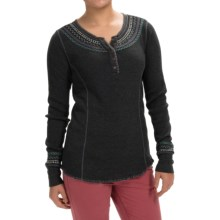 Aventura Clothing Sadie Henley Shirt - Long Sleeve (For Women) in Black - Closeouts