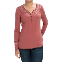 Aventura Clothing Sadie Henley Shirt - Long Sleeve (For Women) in Dusty Cedar - Closeouts