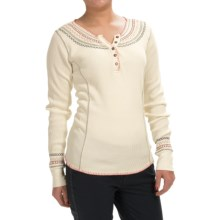 Aventura Clothing Sadie Henley Shirt - Long Sleeve (For Women) in Whisper White - Closeouts