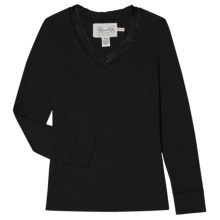Aventura Clothing Schaffer Shirt - Organic Cotton, Long Sleeve (For Women) in Black - Closeouts