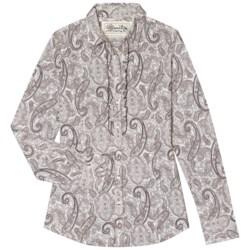 Aventura Clothing Serendipity Shirt - Button Front, Long Sleeve (For Women) in Whisper White
