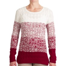 Aventura Clothing Shandi Sweater (For Women) in Merlot - Closeouts