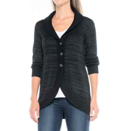 Aventura Clothing Shellie Cardigan Sweater (For Women) in Black - Closeouts