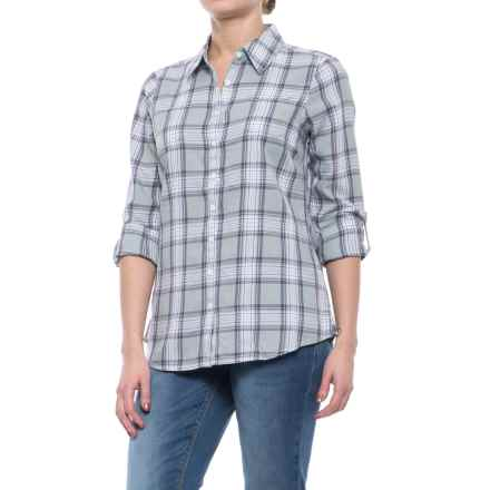 Aventura Clothing Sheridan Shirt - Organic Cotton, Long Sleeve (For Women) in High Rise - Closeouts