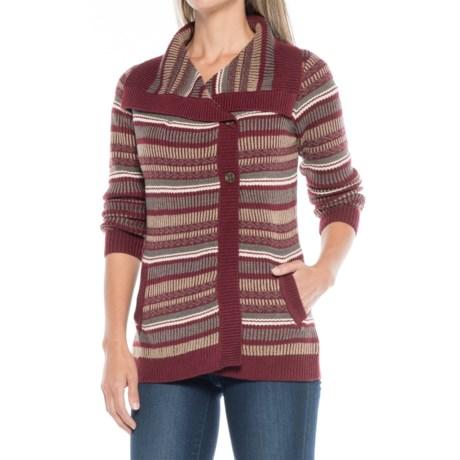 Aventura Clothing Sienna Sweater - Merino Wool (For Women) in Burnt Russet