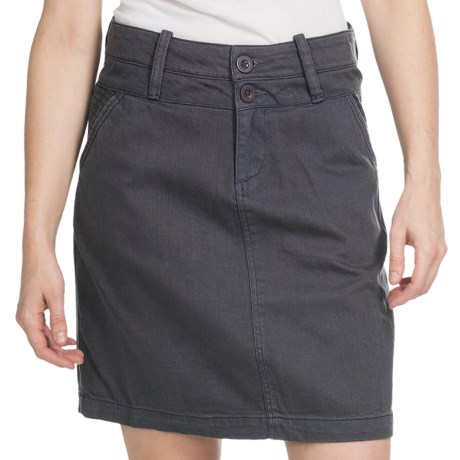 Aventura Clothing Somersett Skirt - Stretch Denim (For Women) in Denim