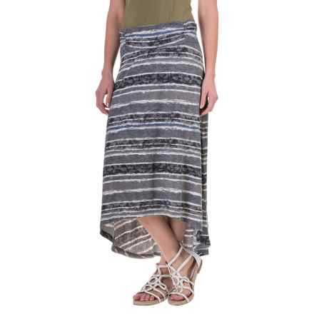 Aventura Clothing Sunnyvale Skirt - Organic Cotton-Modal (For Women) in Black - Closeouts