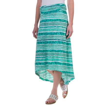 Aventura Clothing Sunnyvale Skirt - Organic Cotton-Modal (For Women) in Blue Turquoise - Closeouts