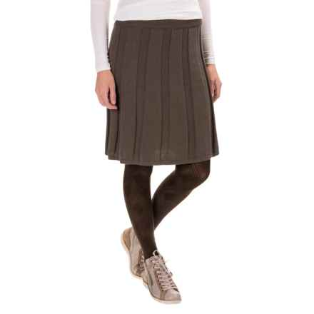 Aventura Clothing Tabitha Skirt - Organic Cotton-Cashmere (For Women) in Walnut - Closeouts