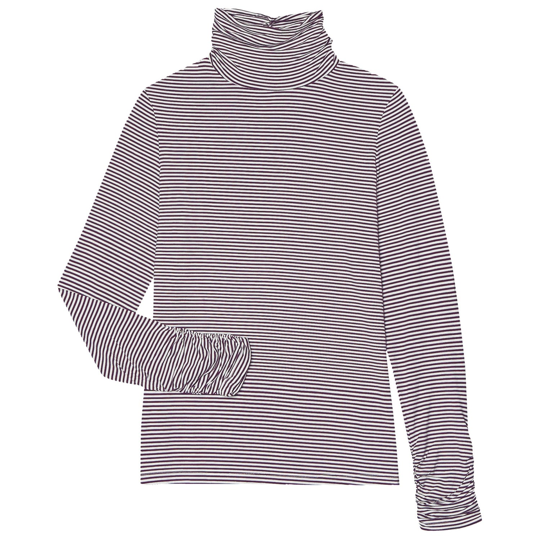 Aventura Clothing Tahoma Turtleneck - Long Sleeve (For Women) in Pinot