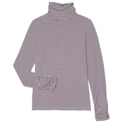 Aventura Clothing Tahoma Turtleneck - Long Sleeve (For Women) in Pinot