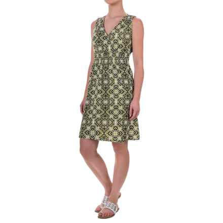 Aventura Clothing Talisa Dress - Organic Cotton-Modal, Sleeveless (For Women) in Black - Closeouts