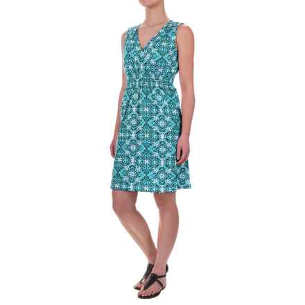 Aventura Clothing Talisa Dress - Organic Cotton-Modal, Sleeveless (For Women) in Mosaic Blue - Closeouts