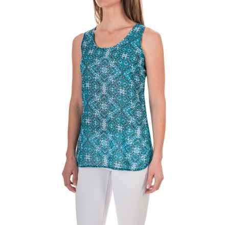 Aventura Clothing Talisa Tank Top (For Women) in Mosaic Blue - Closeouts