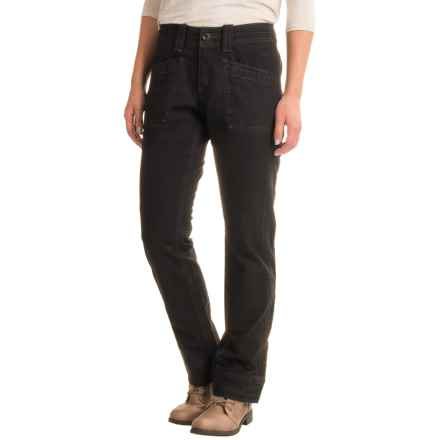 Aventura Clothing Tara Herringbone Pants - Organic Cotton, Bootcut (For Women) in Black - Closeouts