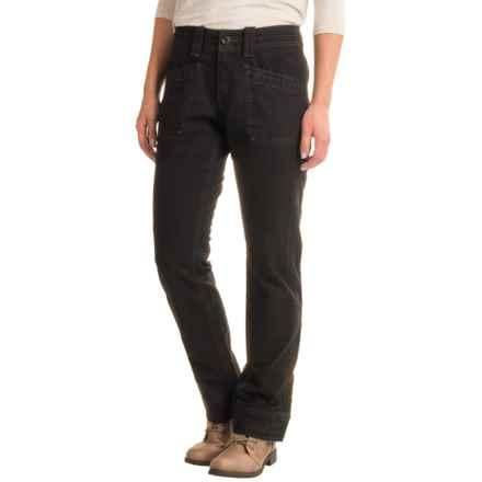 Aventura Clothing Tara Herringbone Pants - Organic Cotton, Bootcut (For Women) in Black - Closeouts