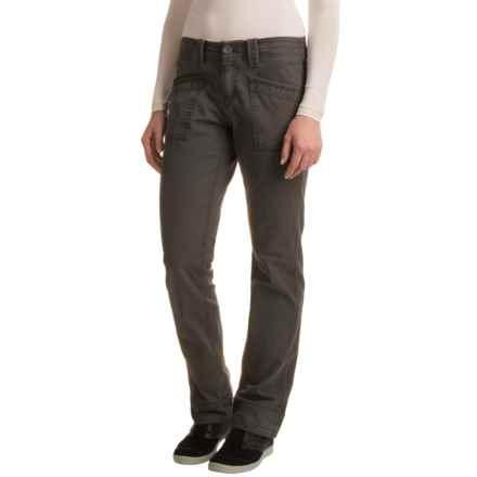 Aventura Clothing Tara Herringbone Pants - Organic Cotton, Bootcut (For Women) in Smoked Pearl - Closeouts
