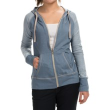 Aventura Clothing Tate Hoodie - Organic Cotton Blend, Zip Front (For Women) in Flintstone - Closeouts