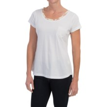 Aventura Clothing Tillie Shirt - Organic Cotton, Short Sleeve (For Women) in White - Closeouts