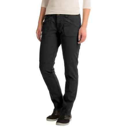 Aventura Clothing Titus Herringbone Pants - Straight Leg (For Women) in Black - Closeouts