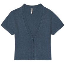 Aventura Clothing Tori Shrug - Short Sleeve (For Women) in Earl Grey - Closeouts