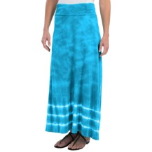 Aventura Clothing Tyra Maxi Skirt - Organic Cotton-Modal, Tie-Dye (For Women) in Seaport - Closeouts