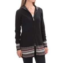 Aventura Clothing Upton Sweater - Organic Cotton, Zip Front (For Women) in Phantom - Closeouts