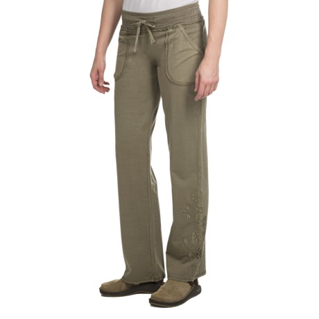 Aventura Clothing Vibe Pants - Stretch Cotton (For Women) in Capers