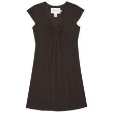 Aventura Clothing Willows Dress - Organic Cotton, Short Sleeve (For Women) in Wren - Closeouts