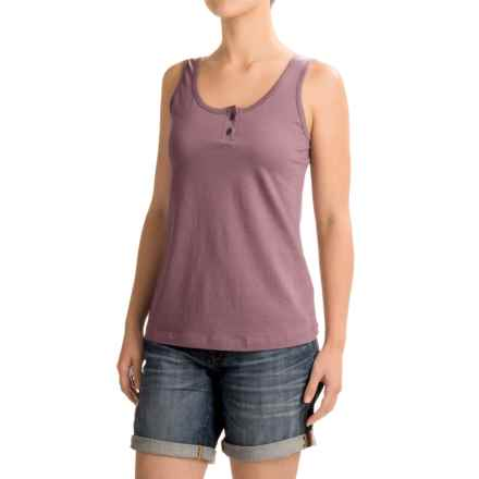 Aventura Clothing Windsor Tank Top - Organic Cotton (For Women) in Grapeade - Closeouts