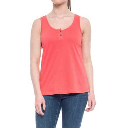 Aventura Clothing Windsor Tank Top - Organic Cotton (For Women) in Spiced Coral - Closeouts