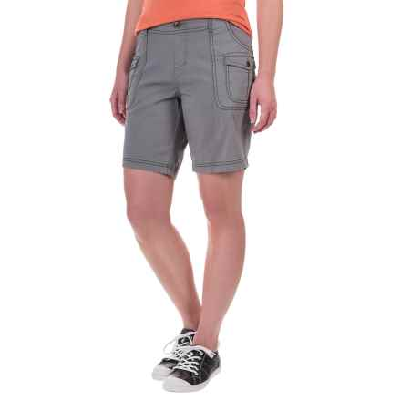 Aventura Clothing Winnie Shorts - Organic Cotton (For Women) in Frost Grey - Closeouts