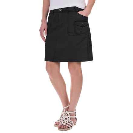 Aventura Clothing Winnie Skirt - Organic Cotton (For Women) in Black - Closeouts