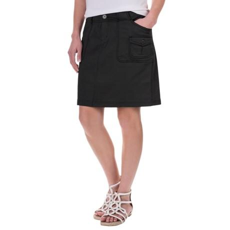 Aventura Clothing Winnie Skirt - Organic Cotton (For Women) in Black
