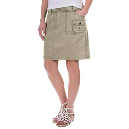 Aventura Clothing Winnie Skirt - Organic Cotton (For Women) in Silver Sage - Closeouts