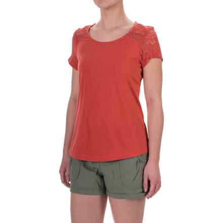 Aventura Clothing Wyatt Shirt - Organic Cotton-Modal, Short Sleeve (For Women) in Chipotle - Closeouts