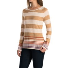 Aventura Clothing Ziva Sweater (For Women) in Whisper White - Closeouts